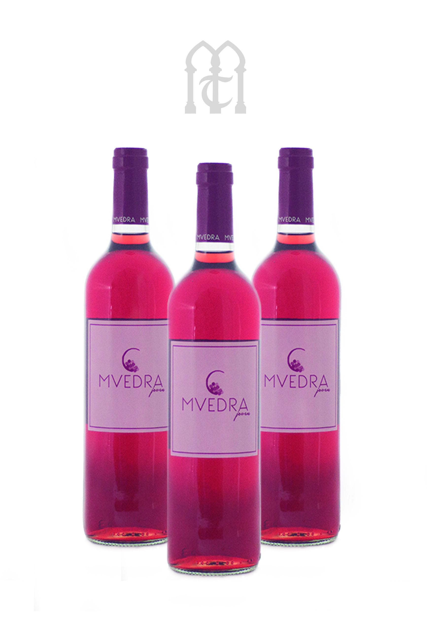 Muedra Rosado, Estruche Tres Botellas.