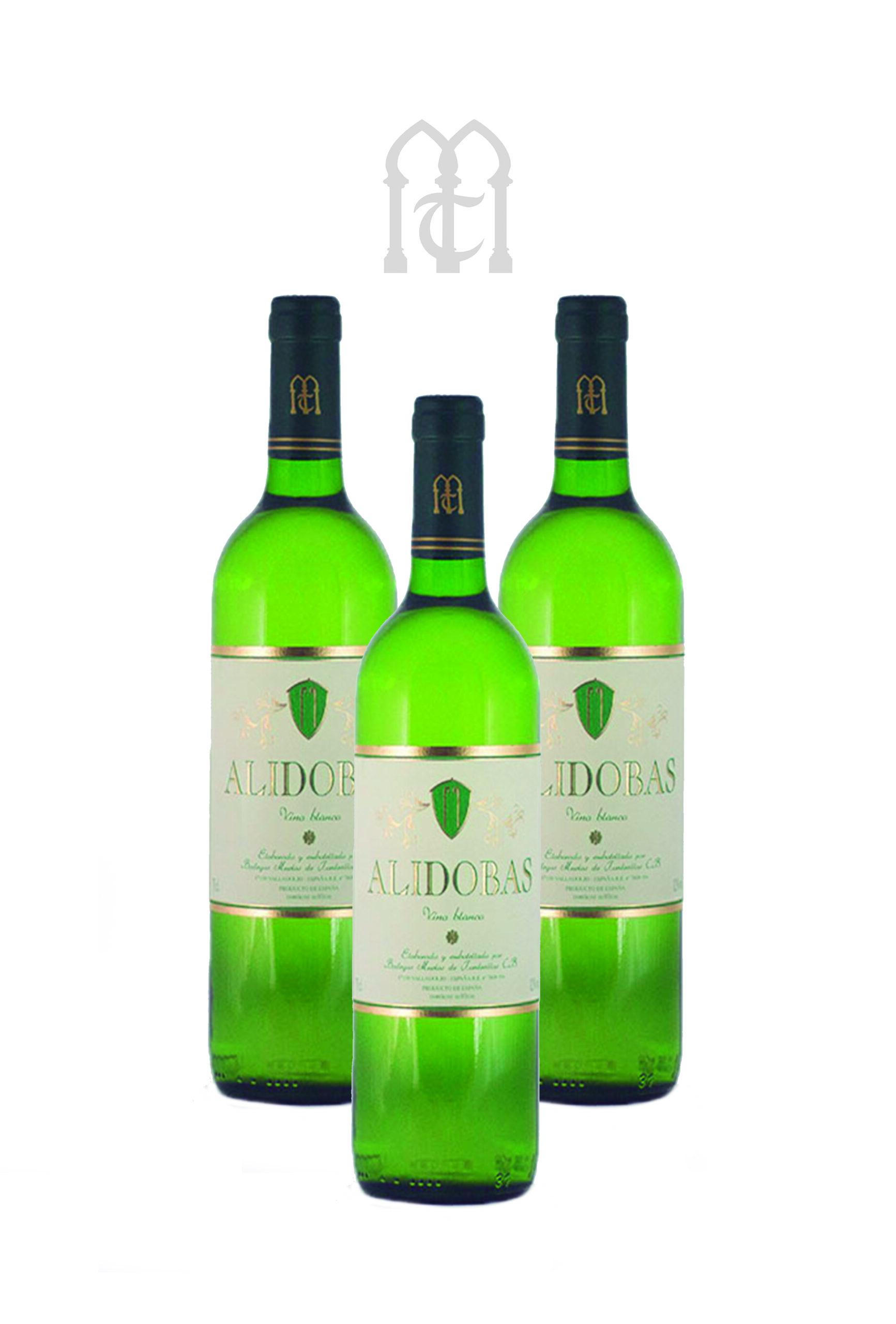 Alidobas Verdejo 2018, Estuche Tres Botellas.